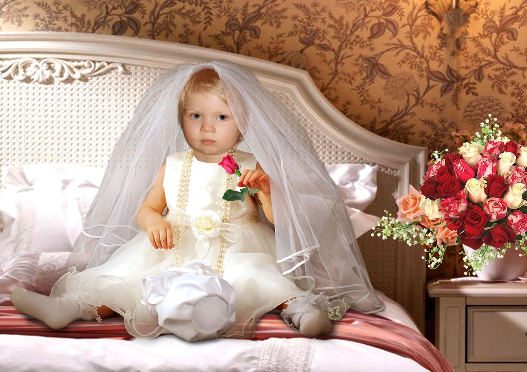 Маленькие жених и невеста фото детей